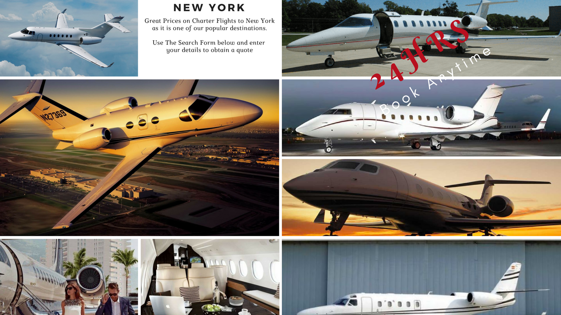 Private Jet Charter To New York