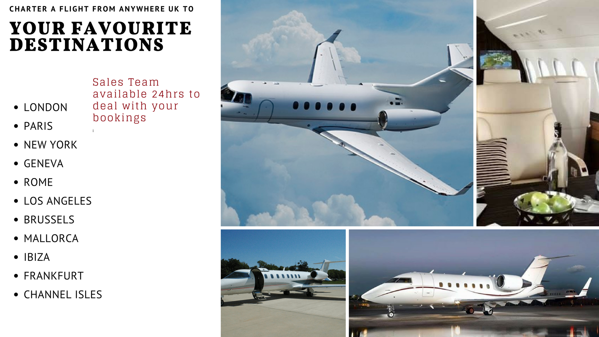 Private Jet Charter To Paris