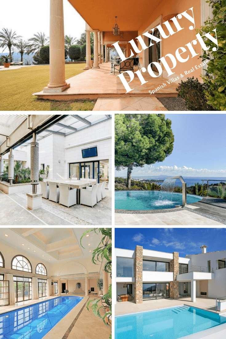 Luxury property on sale in Spain Marbella, a Spanish Villas for sale in the Balearic island of Mallorca