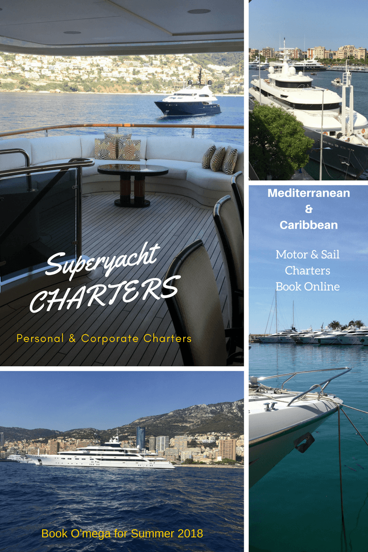 Superyacht Charters in the Mediterannean: Book Online