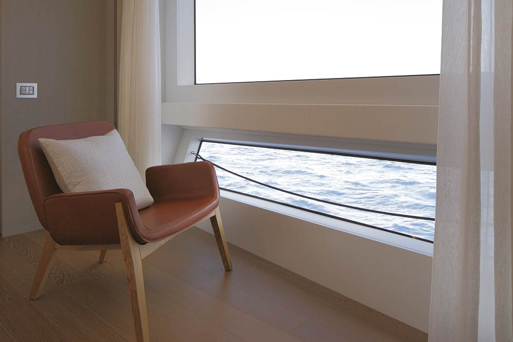 Chair with a sea view
