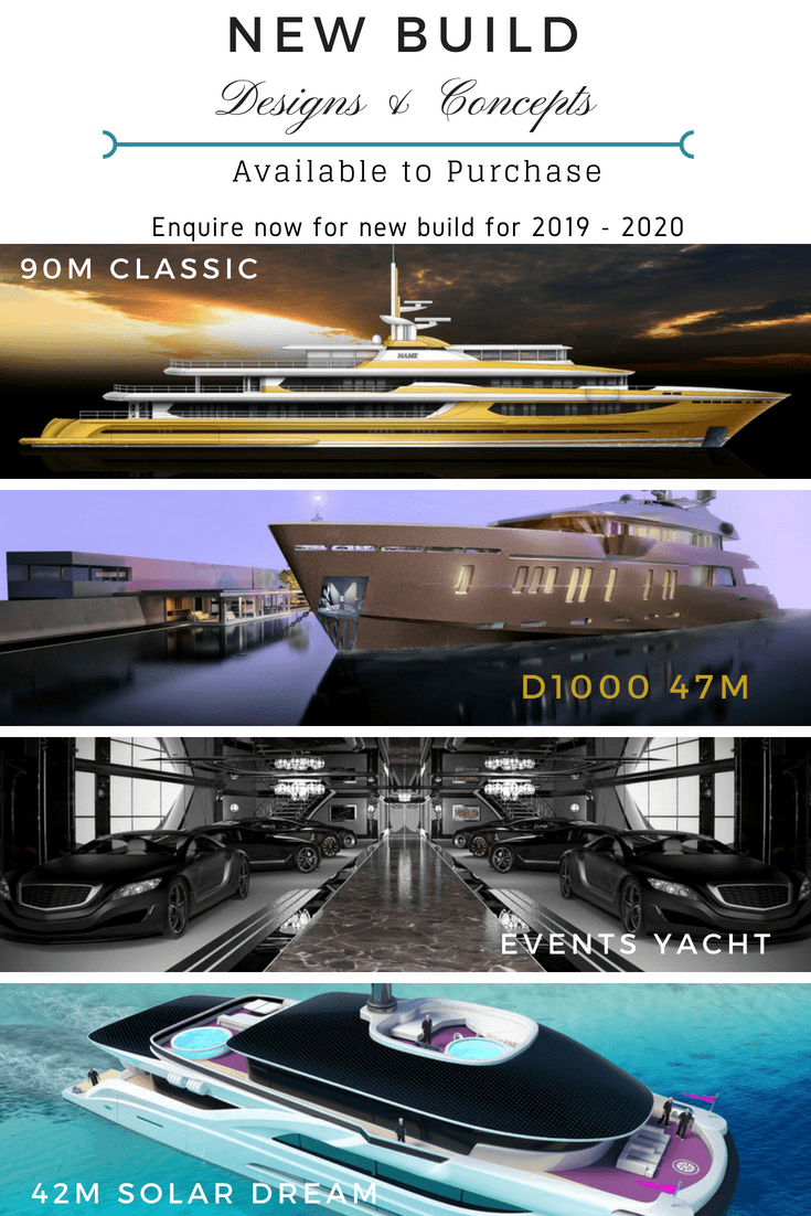 New Build Yachts for sale & Shipyards