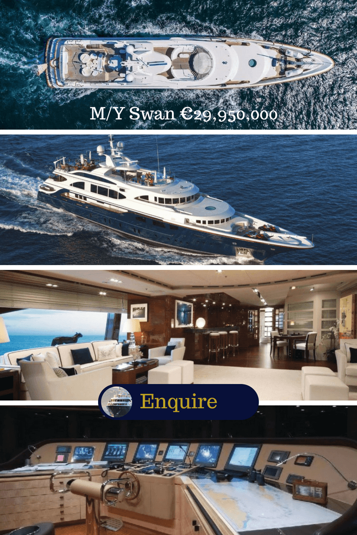 Motor Yacht for sale M/Y Swan by Benetti
