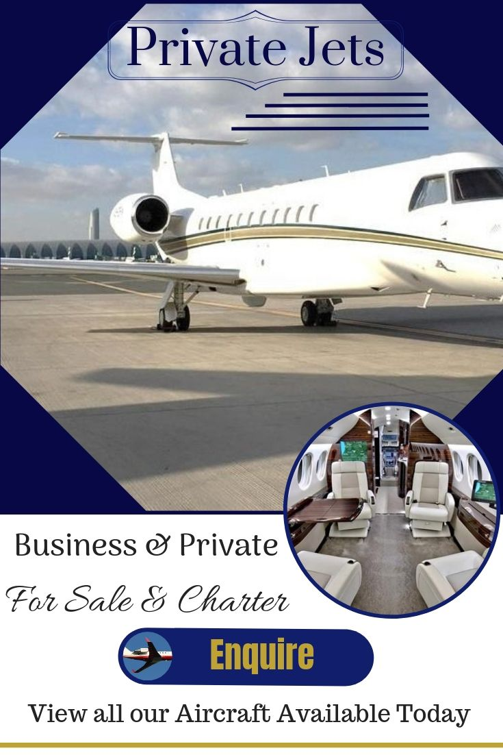 Private Jet in London for charter to Paris & New York.