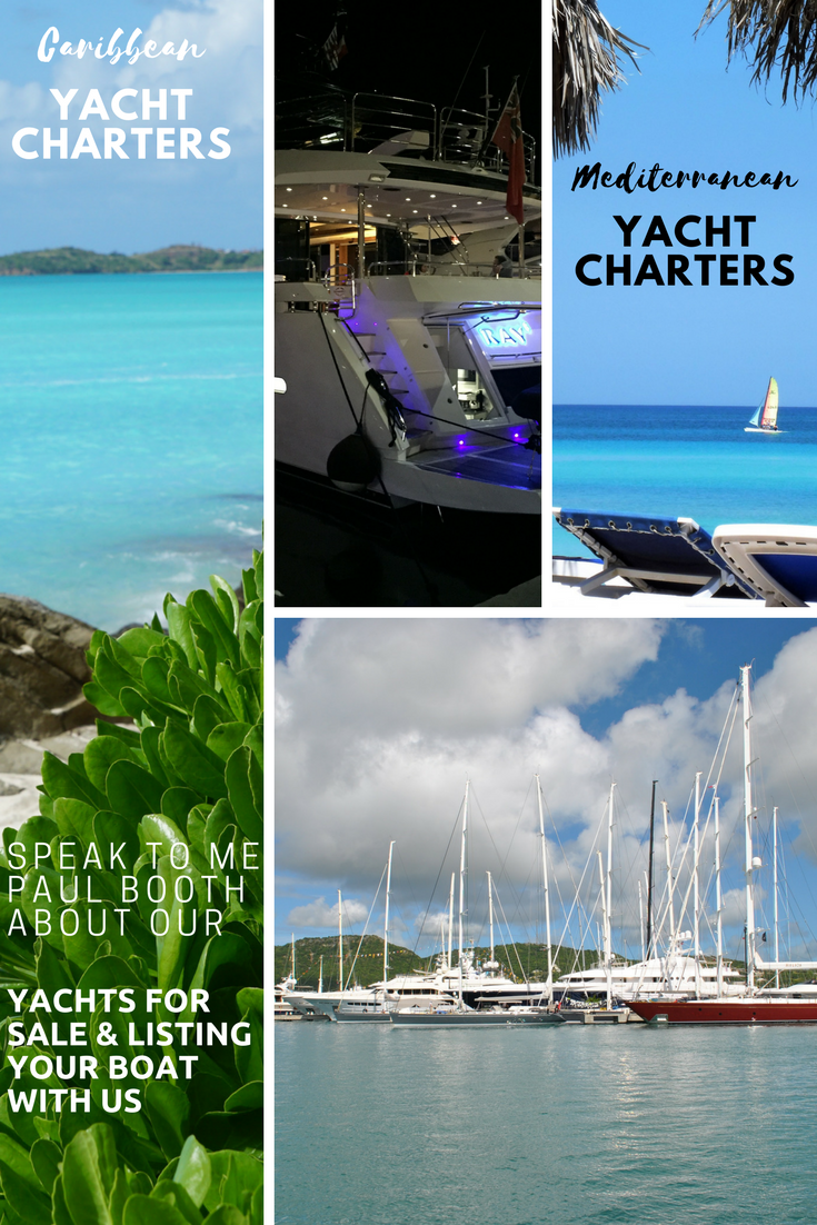 Booking agent for superyacht entertainers while on charter