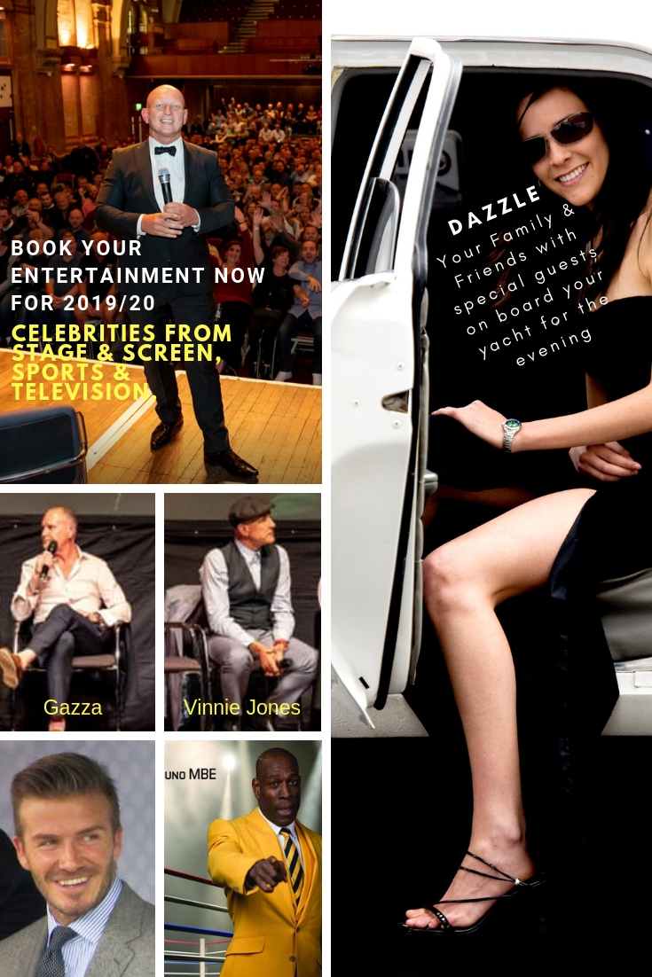 Entertainment acts for motor yacht charters with Paul Booth - Book with 1