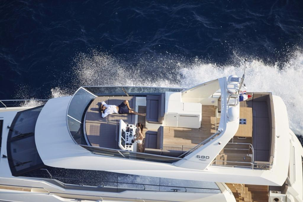 new prestige yachts