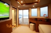 Cklass Nautique relaxing room for family and guests