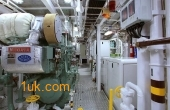 Cklass Nautique yacht engine room