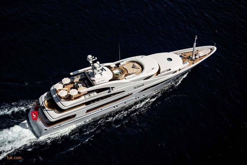 St David charter yacht in the Mediterranean