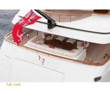 Yacht St David - Stern
