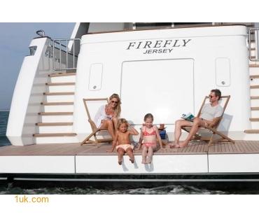 Yacht Firefly - Swim platform