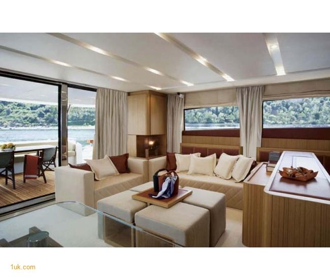 Yacht Sicilia - Salon