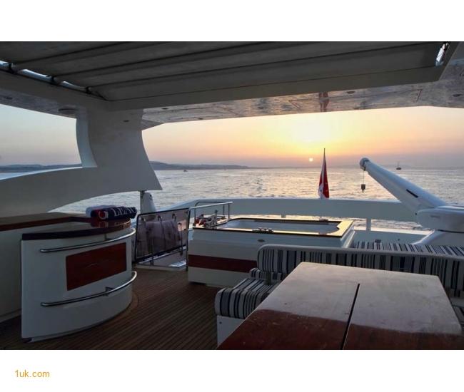 Yacht Sicilia - Sun Set