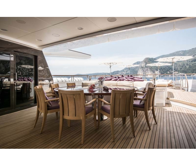 St David 2017 - Sun Deck Dining