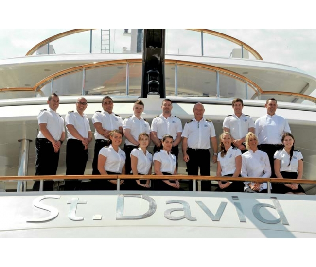 Yacht St David - Crew Photo - May 16