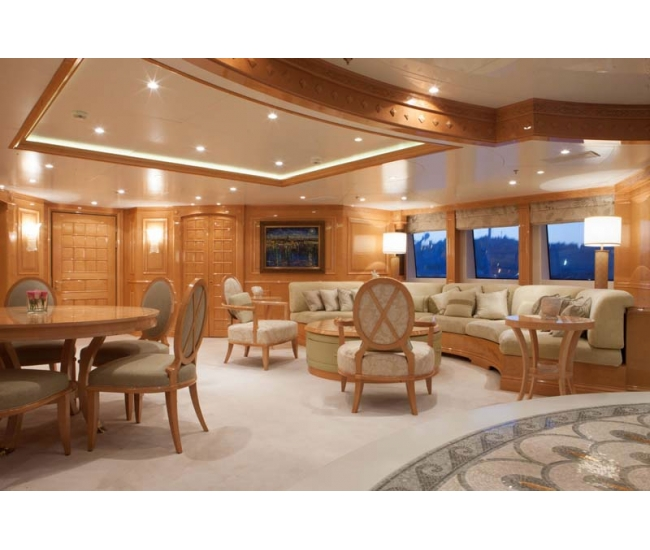 Yacht St David - Upper Deck Lounge