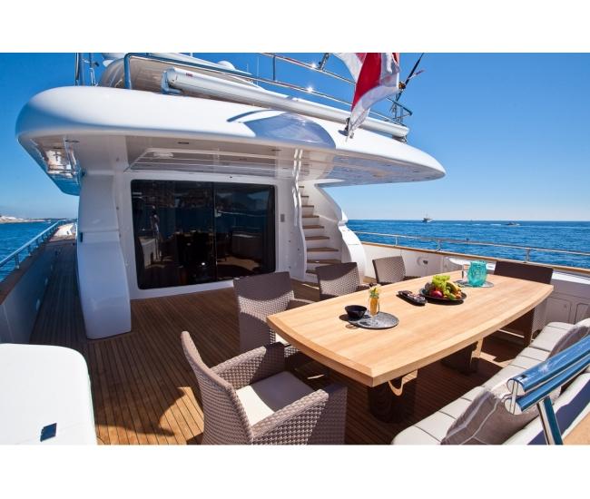 Luxury yacht for sale in the Mediterranean