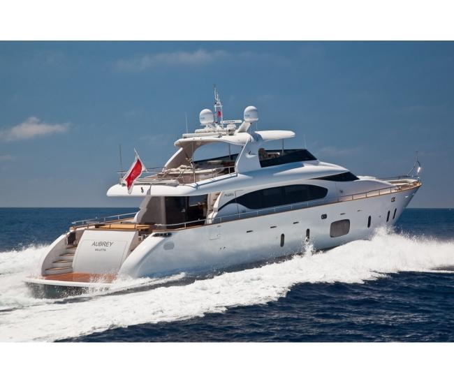 luxury yacht aubrey