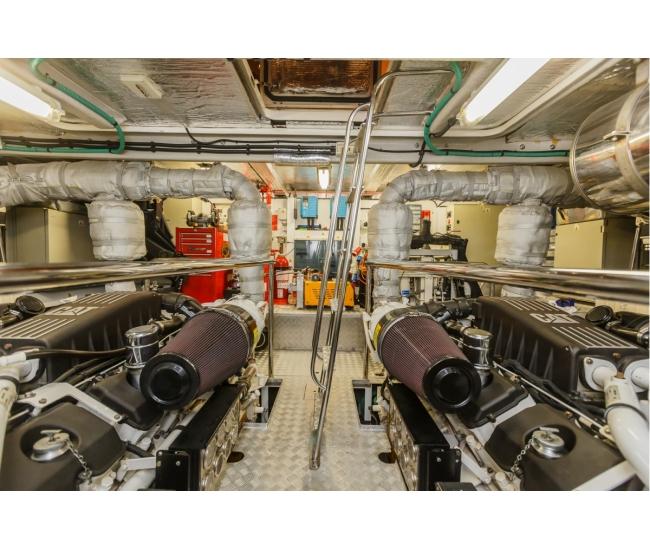 Basya Nicoli Engine Room