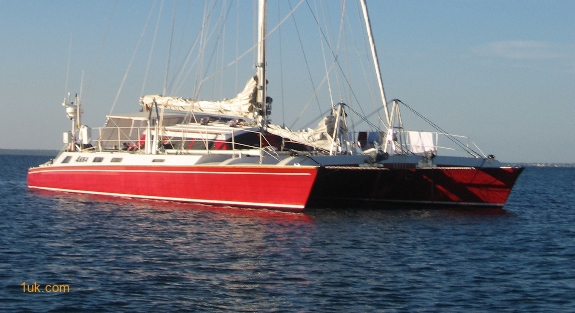 sailing-catamaran charter in the caribbean