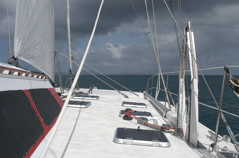 Catamaran Charter yacht in the Caribbean: AKKA
