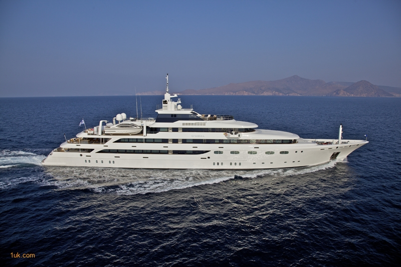 Mega Yacht Charter in the Caribbean & Maediterranean