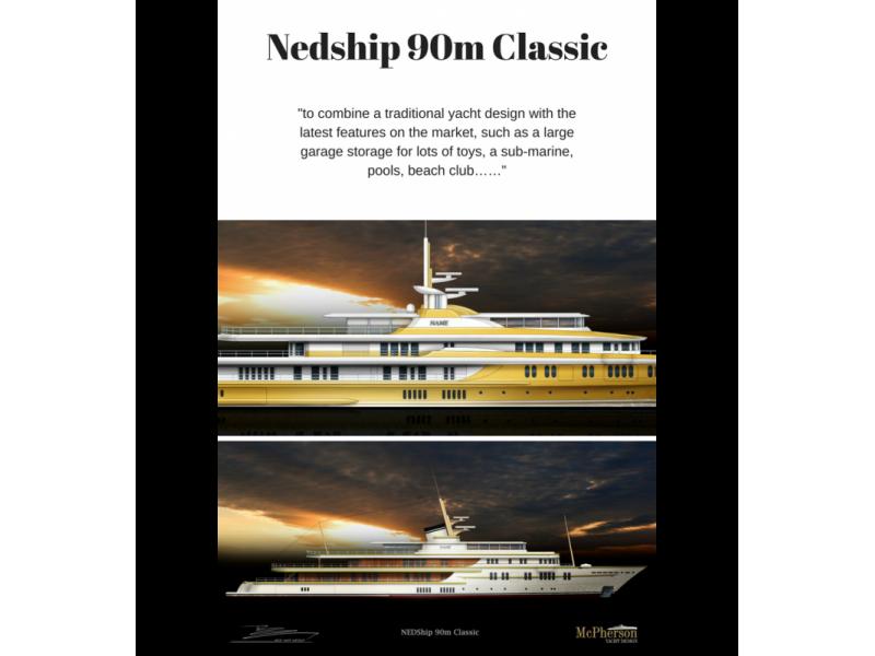 Nedship-90m-classic Luxury Yacht