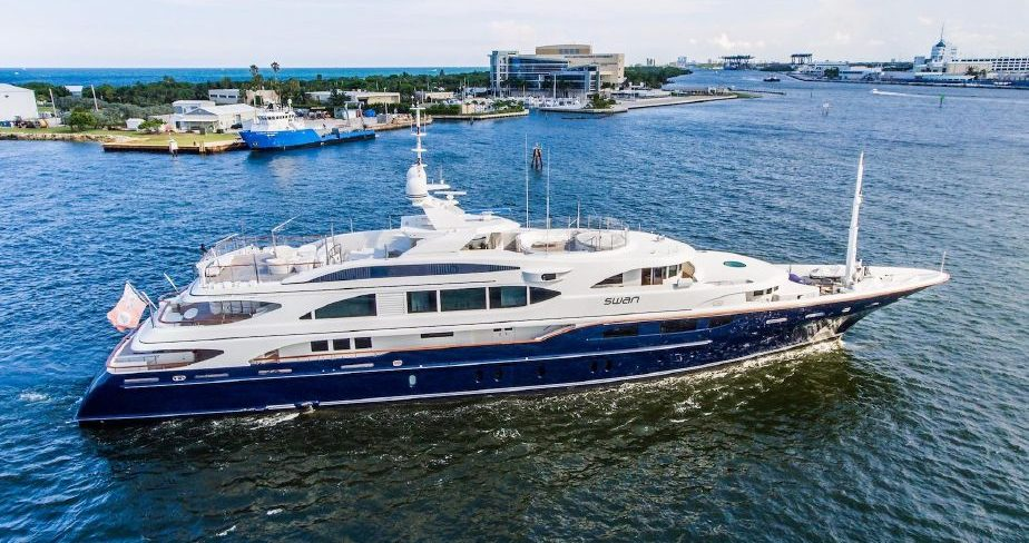 M/Y Swan Superyacht advertised at just under $30m