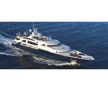 M/Y Swan Superyacht starboard view