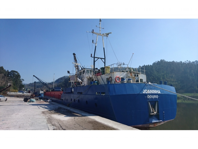 Cargo Vessel and Dredger Joaninha For Sale ( REDUCED )