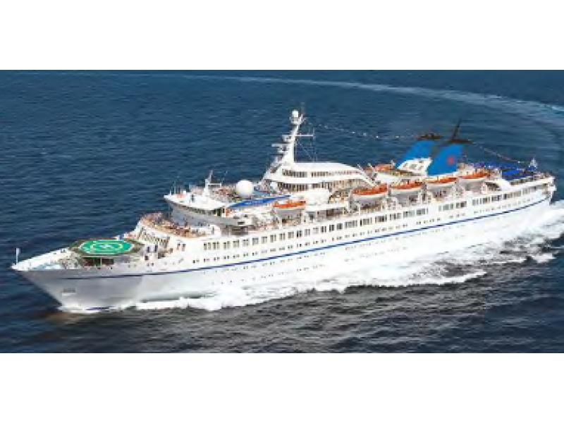 TWIN SCREW CLASSIC CRUISE VESSEL