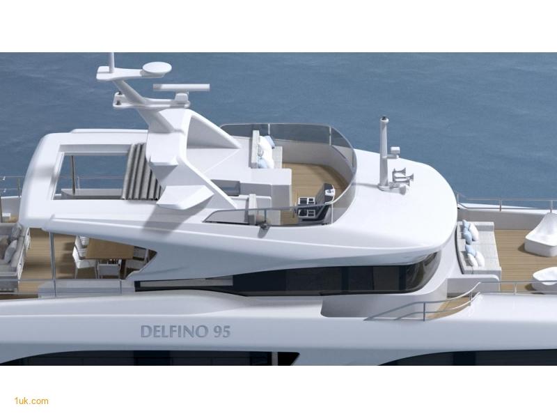 Benetti Delfino 95 - Sun Deck