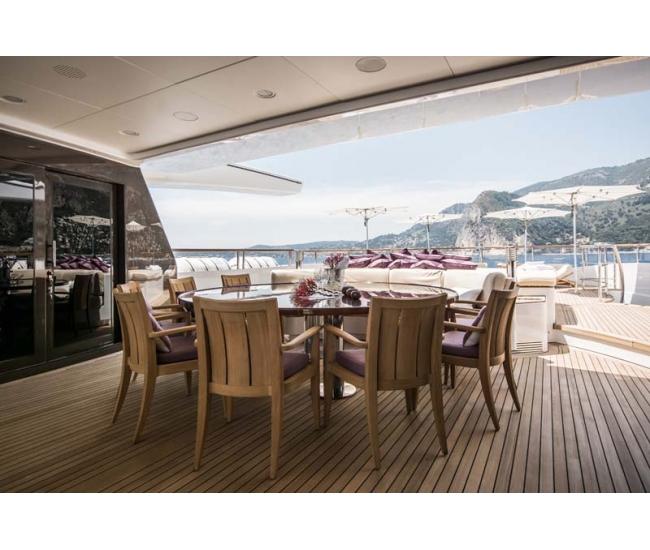 St David 2017 - Sun Deck Dining