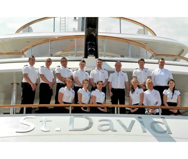 Yacht St David - Crew Photo - May 16
