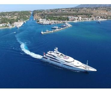 Yacht St David - Corinth Canal 2016 - 1