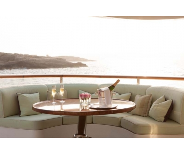 Yacht St David - Upper Deck Aft