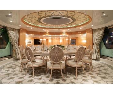 Yacht St David - Upper Deck Dining