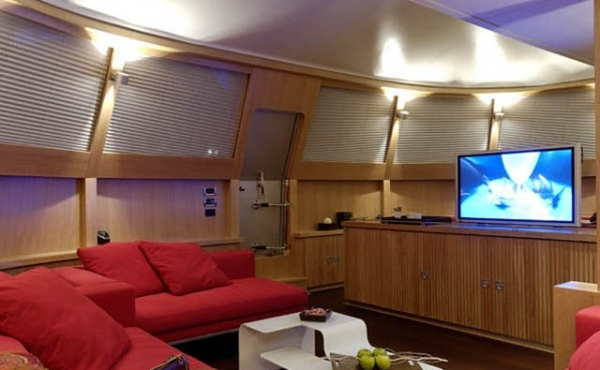 Power Catamaran yacht for sale in Bodrum Turkey with 1 UK yacht Brokers