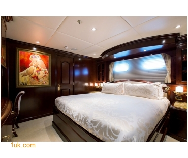 M/Y Mustique Superyacht owners cabin