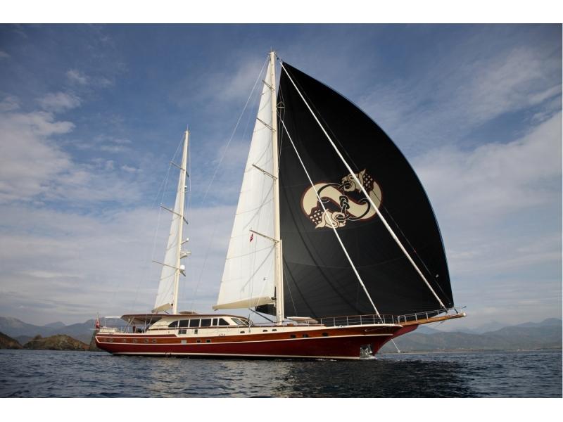 S/Y Daima: Motor Sailor Gulet: Luxury Yacht For Sale