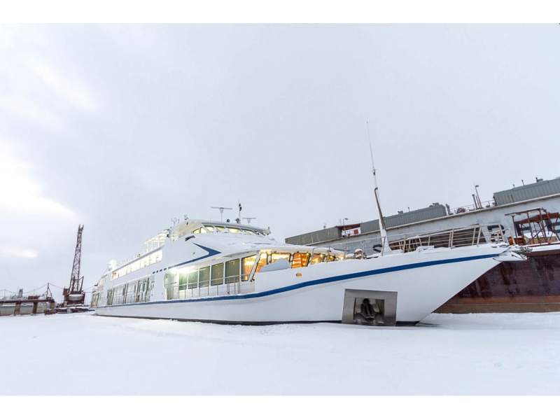VIP River Boat/Yacht in Moscow 2766m Galiot