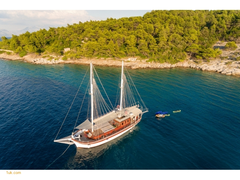 Gulet Slano for Charter in Croatia