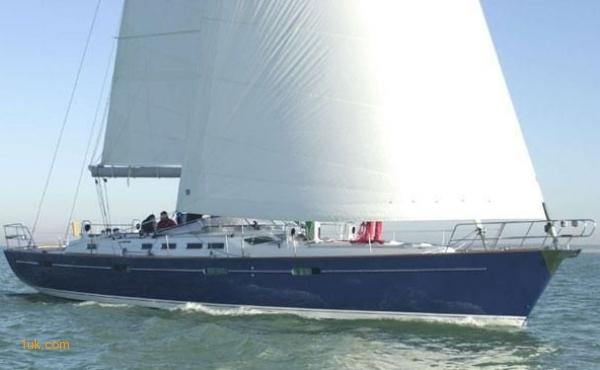 Beneteau 57 Sailing yacht