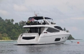 Sunseeker Manhattan 73 yacht London for sale