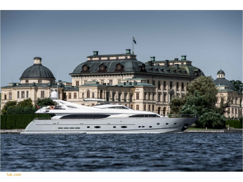 Beautiful yacht located in France