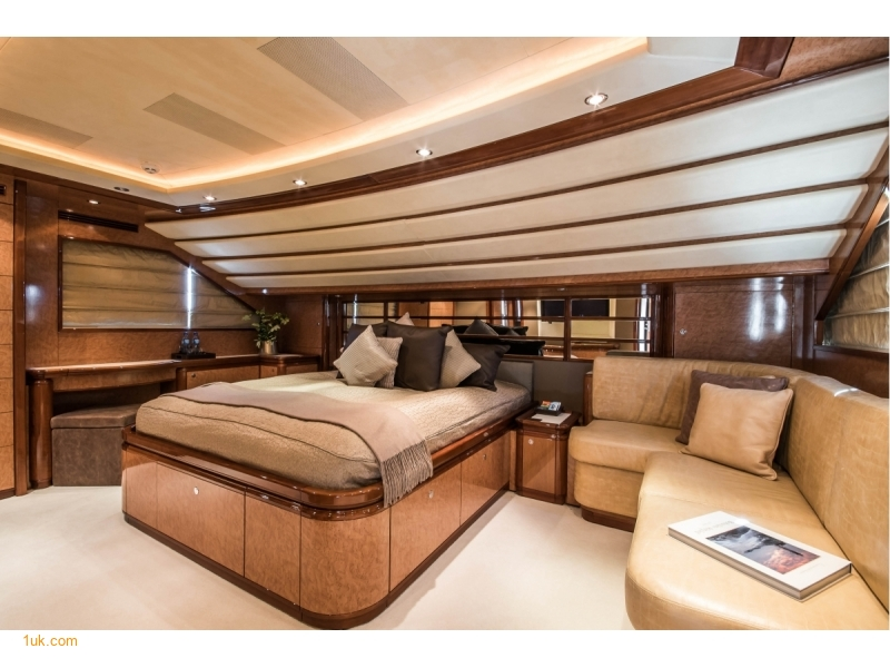 Master suite on the main deck