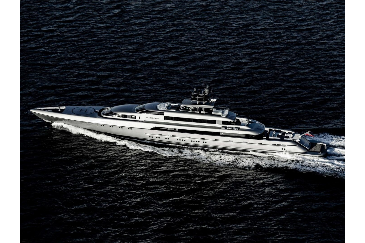The Superyacht for Sale called Silver Fast