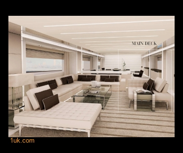Cantieri Di Pisa Yachts - The Akhir 118 available in the UK from 1