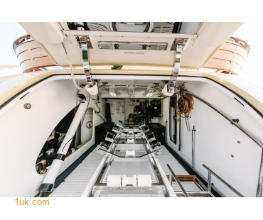 Luxury yachts in London